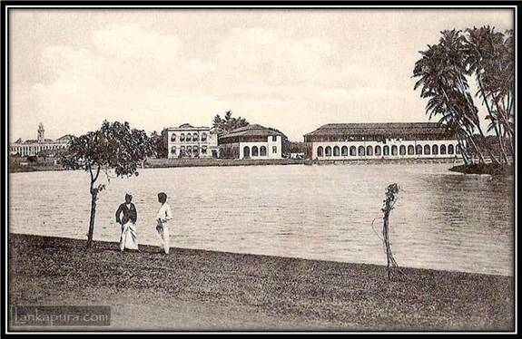 Beira Lake Colombo, Early 1900s