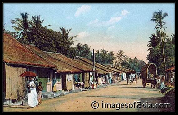 Colpetty Bazaar, Colombo, Ceylon