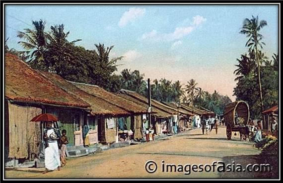 Colpetty Bazaar, Colombo, Ceylon