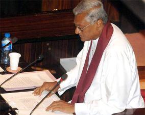 Speaker Chamal Rajapaksa
